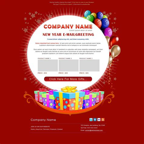 birthday card email template happy birthday email templates free premium templates