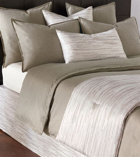 bed scarf niche luxury bedding by eastern accents horta putty bed