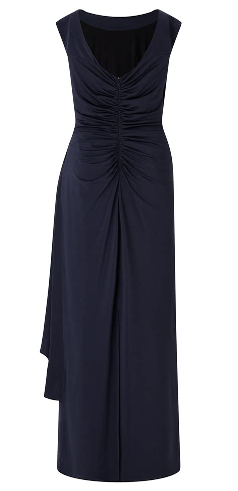Elia Maxi by ariella elia navy jersey maxi dress ariella