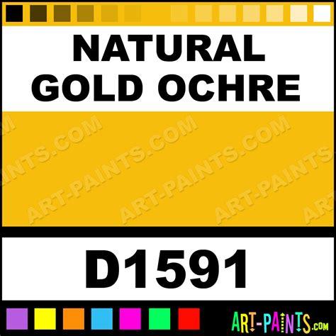 gold ochre artists paints d1591 gold ochre paint gold ochre
