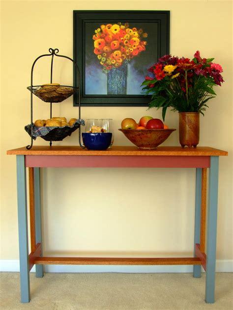 build  hall table  tos diy