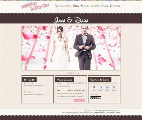 template undangan pernikahan digital template undangan pernikahan online tema disney datangya