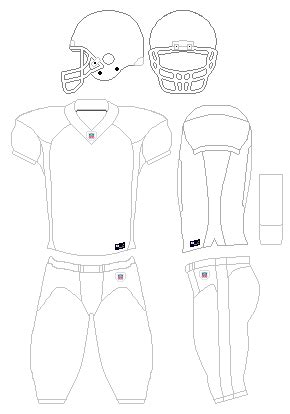 File Nfl Uniform Template V3 Png Wikimedia Commons Football Jersey Template