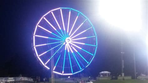 genesis health services foundation bandits ferris wheel turns heads across the nation wins