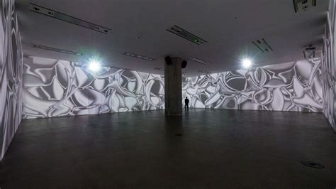 room mapping peter kogler s rooms of illusions projection mapping central