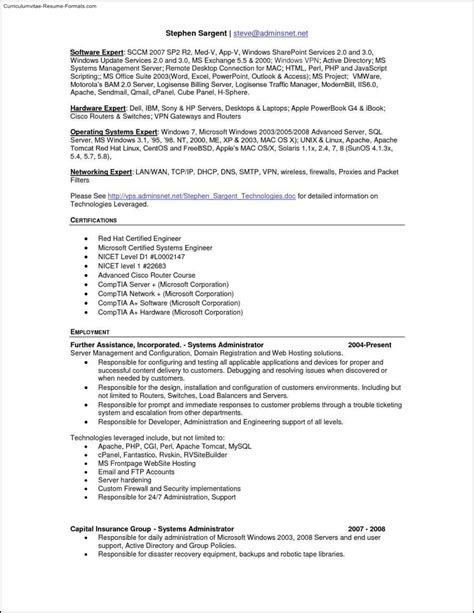 free resume templates for mac free sles
