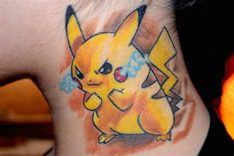 these pokemon tattoos are ready to battle 30 photos