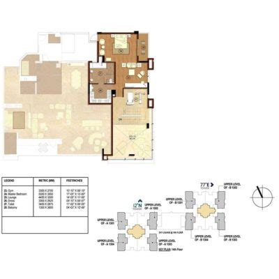 latitude floor plan rmz latitude luxury residences hebbal bangalore