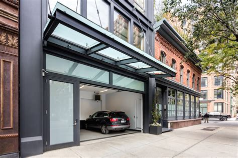 Townhouse With Garage Nyc tribeca suburban mansion with pool and three car garage