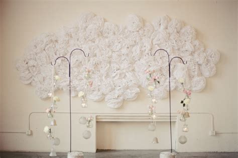 foto dekoration wand wedding wall decorations decoration