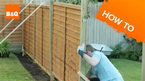 Bq Fencing Trellis How To Erect A Fence
