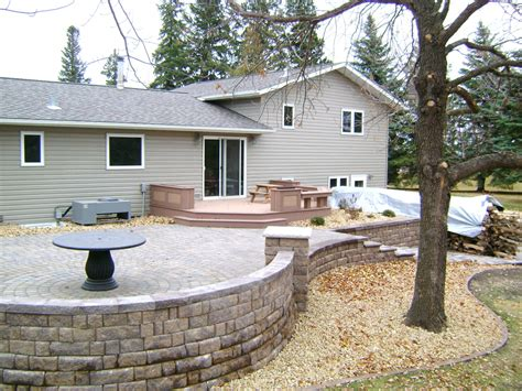 How To Build A Raised Paver Patio How To Build A Raised Paver Patio Home Design Ideas And Pictures