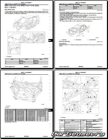 car repair manual download 2011 nissan quest regenerative braking nissan quest e52 2011 2017 body repair manual
