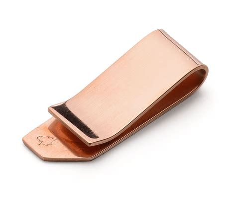 Handmade Money Clip - handmade copper money clip