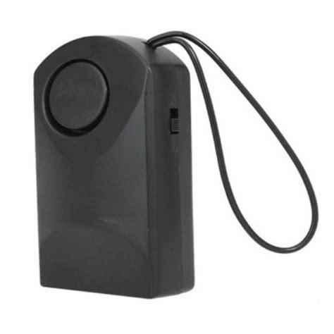 Door Knob Alarm System by Black Touch Knob Door Entry Alarm Alert Security Anti