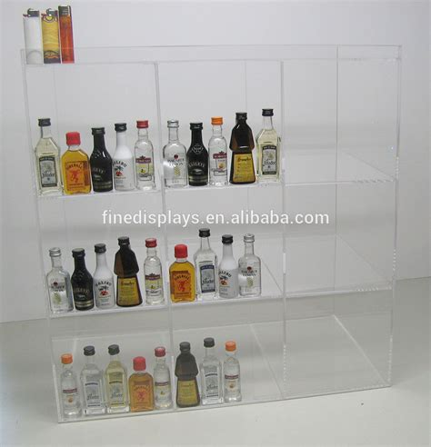 Commercial Display Case Mini Sampler 50ml Liquor Shot