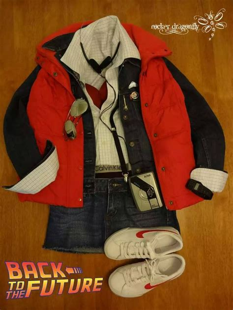 women s marty mcfly costume marty mcfly women s fashion down to the calvin klein