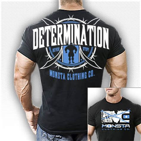 Tshirt Kd Never Stop Nike monsta clothing graphic bodybuilding determination