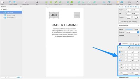 auto layout resize view responsive design in sketch group resizing vs auto