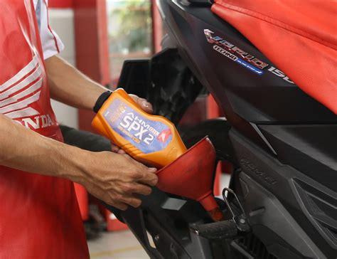 Oli Motor Spx inilah harga dan kemasan baru oli asli honda ahm tipe