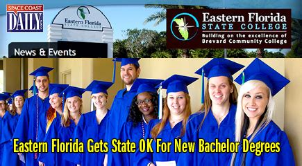 eastern florida gets state ok for new bachelor degrees