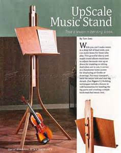 Table Jointer Wooden Music Stand Plans Woodarchivist
