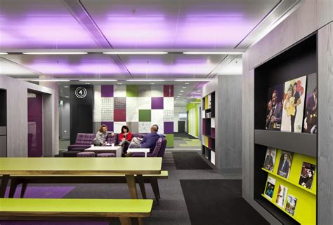 Urban Design Takes Centerstage At The Offices Of BBC North Office Snapshots