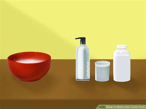 how to make hair color fade 3 ways to make hair color fade wikihow
