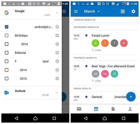 Sync Outlook Calendar With How To Sync Calendar With Outlook Androidpit