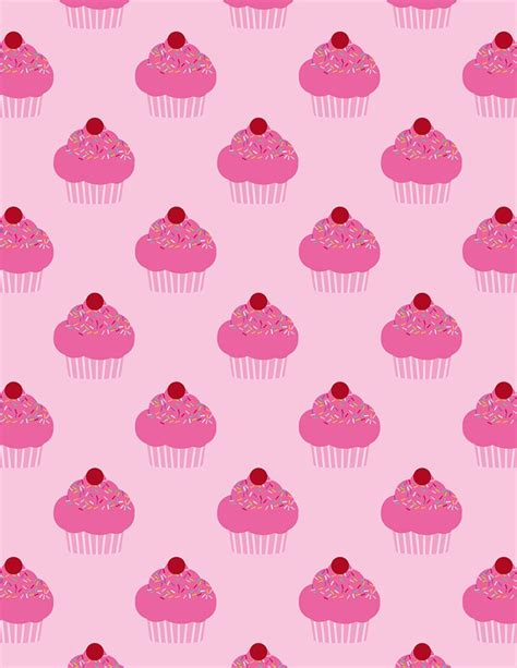 cupcake pattern tumblr cupcake background via tumblr image 2494460 by miss