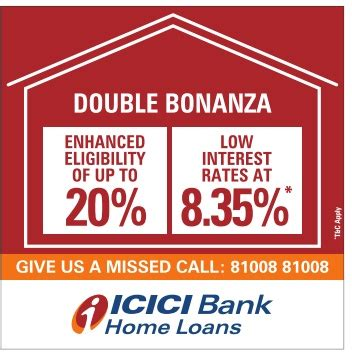 icici bank housing loan icici bank home loans double bonanza ad advert gallery