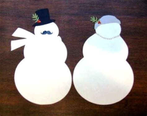 How To Make A Snowman Out Of Paper - introducing mr and mrs frosty paper source paper