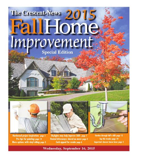 fall home improvement 2015 by the crescent news issuu