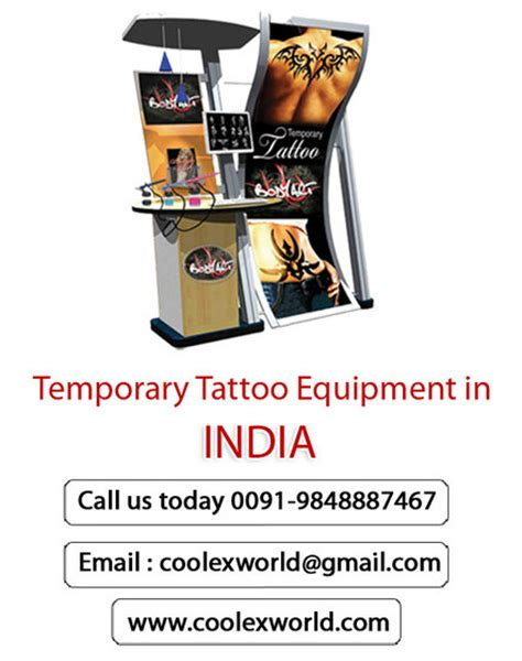 fake tattoo maker online temporary tattoo machine maker from coolex industry pvt