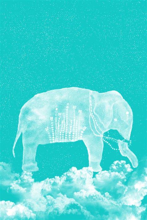 wallpaper iphone elephant wallpaper blue cute elephant clouds iphone wallpapers