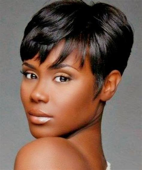 best haircuts for thin soft hair african american women 20 photo of short hairstyles for african american women