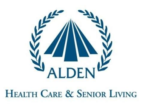 alden health care and senior living logo