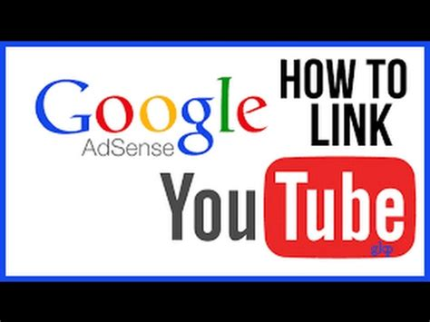 adsense link youtube link your adsense account to youtube channel and earn