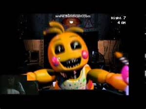 Fnaf 2 discovery lets take a closer look at toy chica jumpscare and