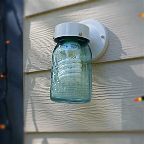 How To Make A Jar Light by Easy Diy Jar Decor Porch Light