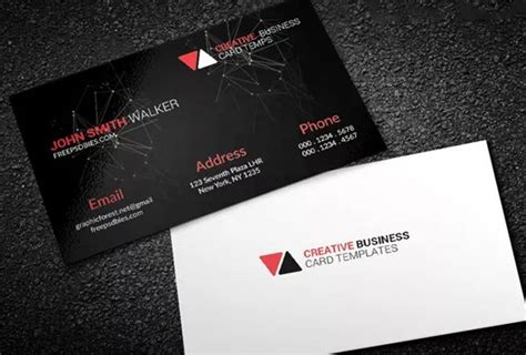 Address Card Template Psd by Free Business Card Template Psds For Photoshop 100 Free