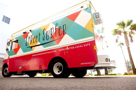 food truck design project street surfer food truck on behance
