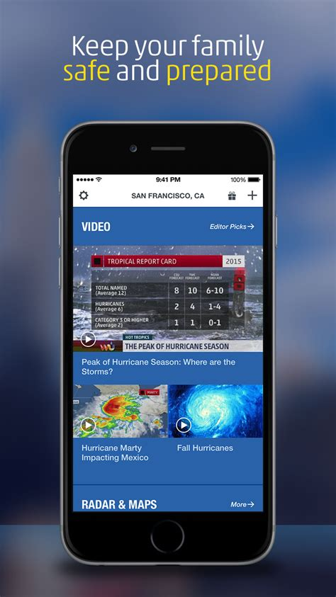 weather channel app  dynamic home screen morning show  day forecasts  iclarified