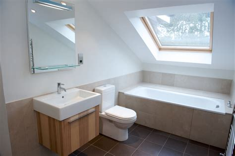 bathroom in loft conversion using your loft conversion as a bathroom