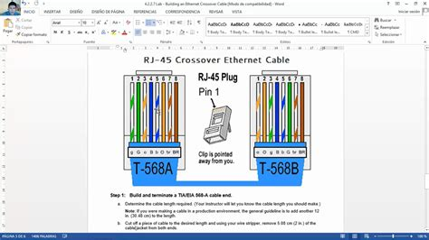 t568a t568b rj45 cat5e cat6 ethernet cable wiring diagram