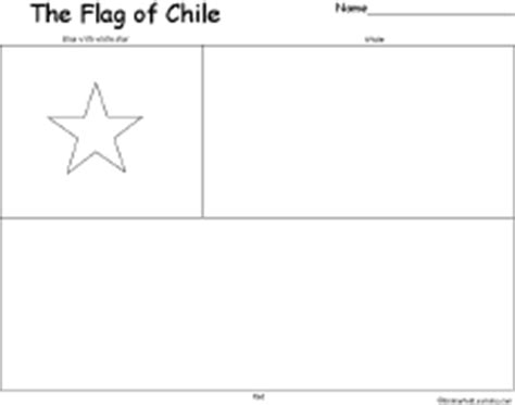 coloring page map of chile chile s flag enchantedlearning com