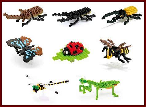 Dijamin Nanoblock Hercules Beetle nanoblock hercules beetle micro sized bug building mini blocks nano block insect