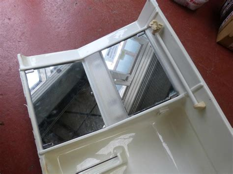 plastic bathroom taps caravan motorhome conversion plastic bathroom unit with taps ref chall2 sinks at