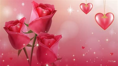 animated rose flower wallpaper gallery