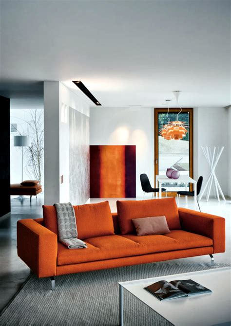 orange room decor 28 stunning orange living room designs ideas decoration